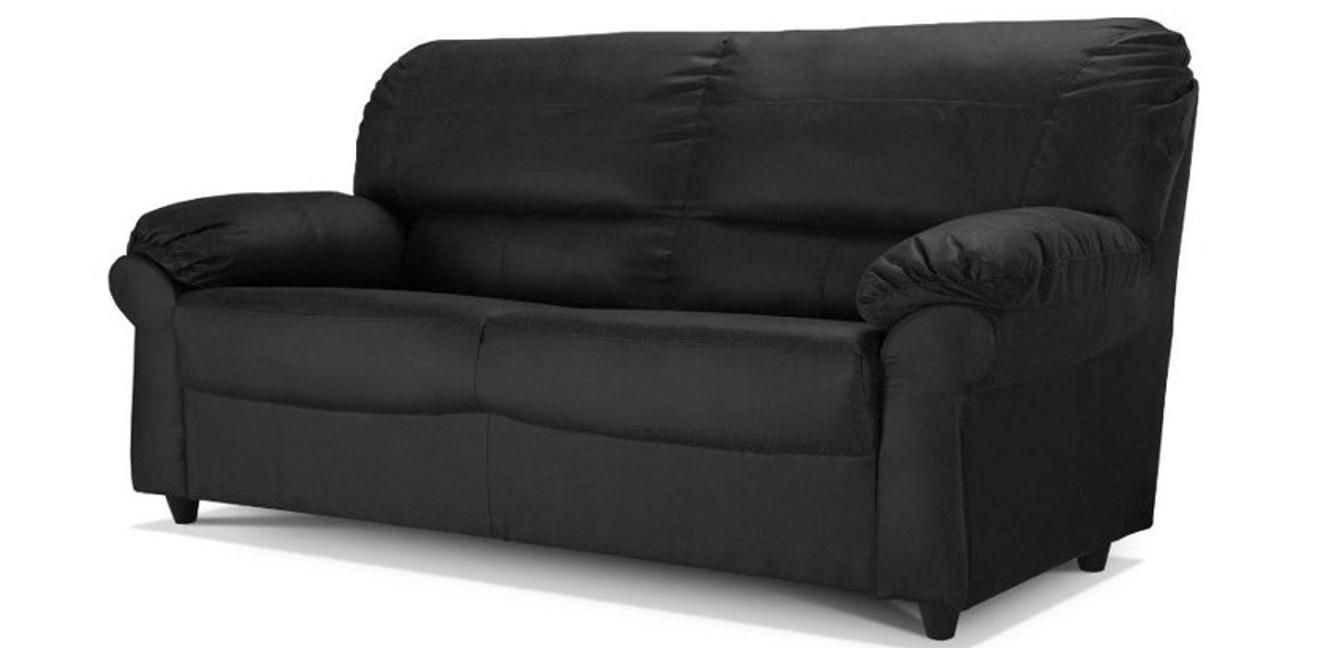 Artisan 3 Seater Black