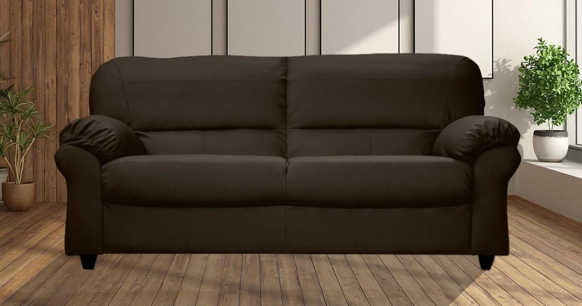 Artisan 3 Seater Brown