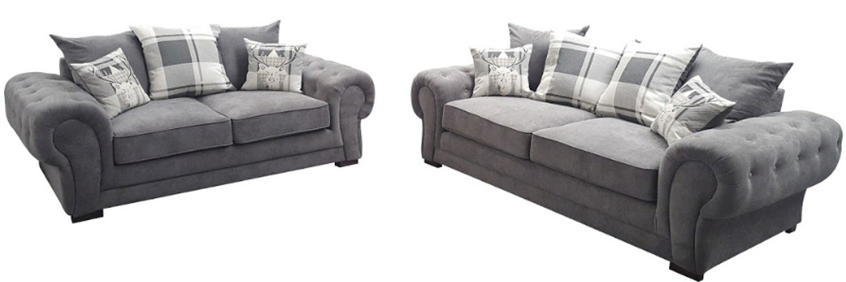 Ashby 3 Seater Graphite