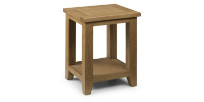 Astoria Oak Lamp Table Assembled