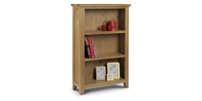 Astoria Oak Low Bookcase Assembled