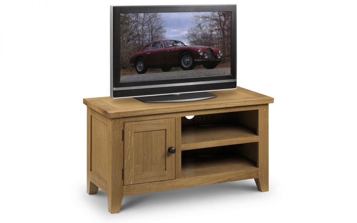 Astoria Oak TV Unit Assembled