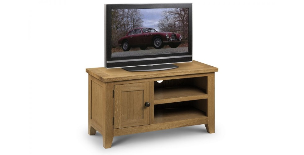 Astoria Oak TV Unit Assembled