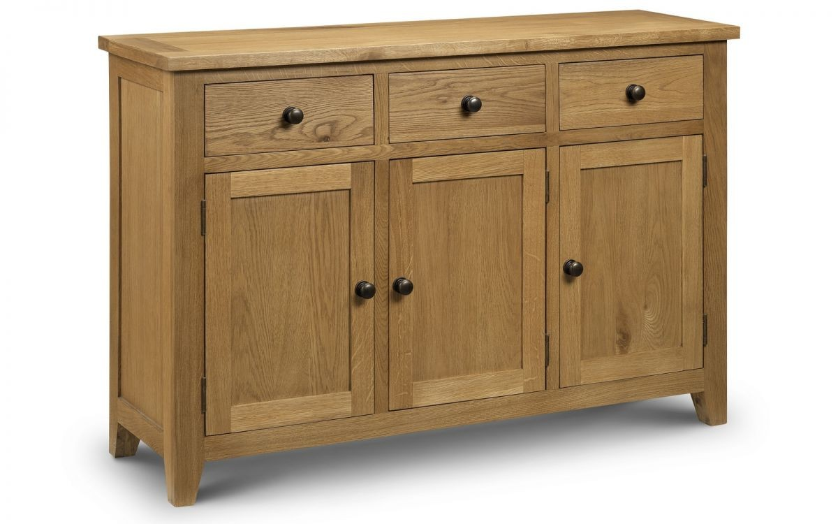 Astoria Oak Sideboard Assembled