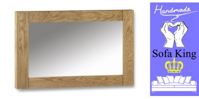 Astoria Oak Wall Mirror