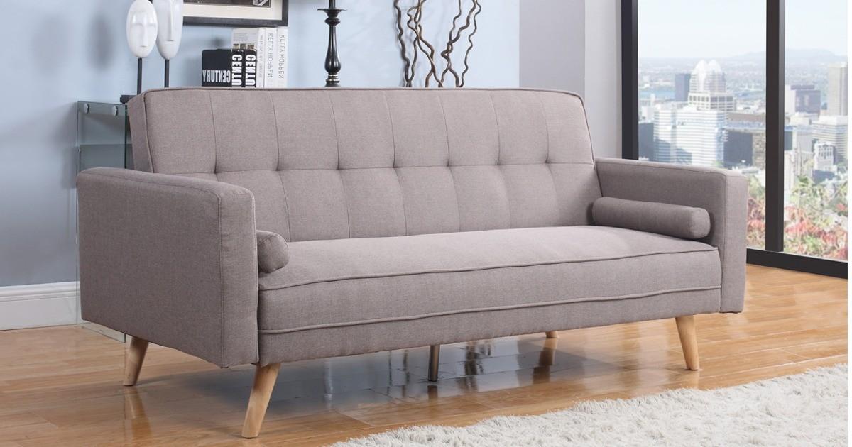 Atlanta Large Sofa Bed Grey