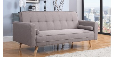 Atlanta Large Sofa Bed Grey