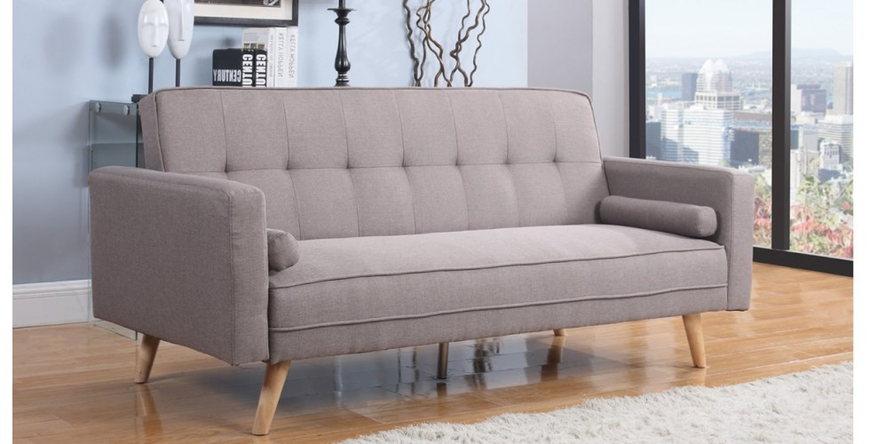 Atlanta Large Sofa Bed - Grey