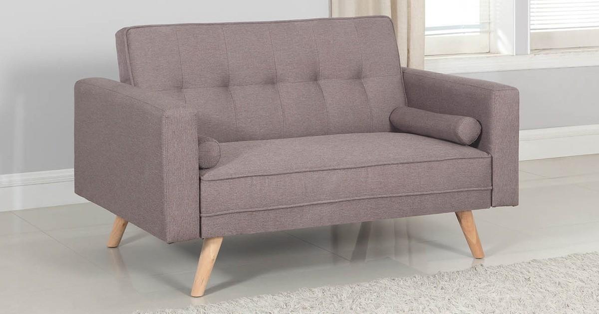 Atlanta Medium Sofa Bed Grey