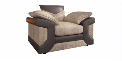 Balmoral Armchair Brown-Beige
