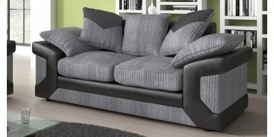 Balmoral 2 Seater Black-Grey