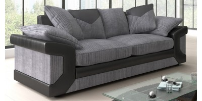 Balmoral 3 Seater Black-Grey