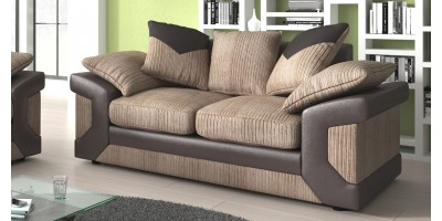 Balmoral 2 Seater Brown-Beige