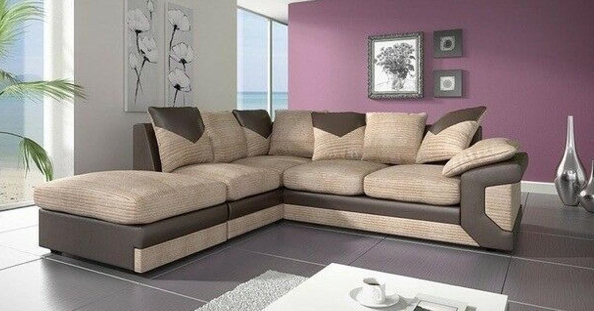 Balmoral Corner LHC Brown-Beige Sofa