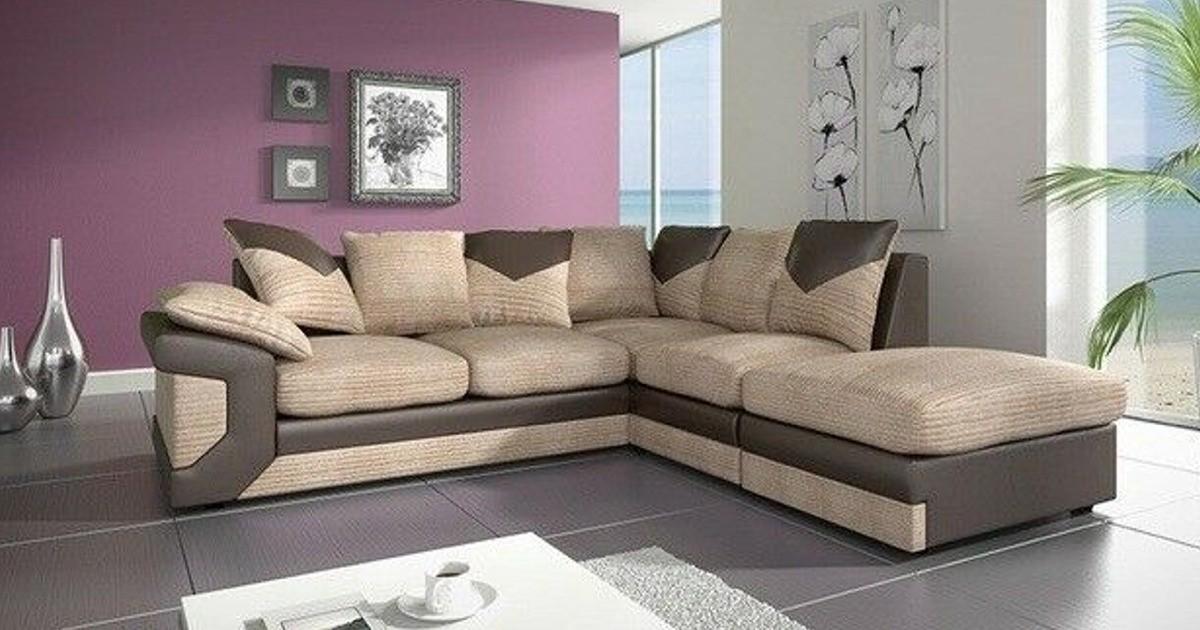 Balmoral Corner RHC Brown-Beige Sofa