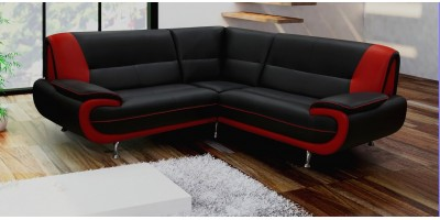 Bari Corner Group Black-Red
