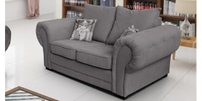 Baron 2 Seater Graphite Formal Back Cushions