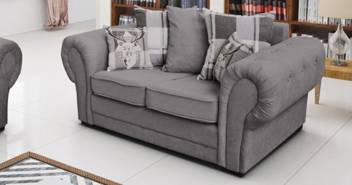 Baron 2 Seater Graphite Scatter Back Cushions