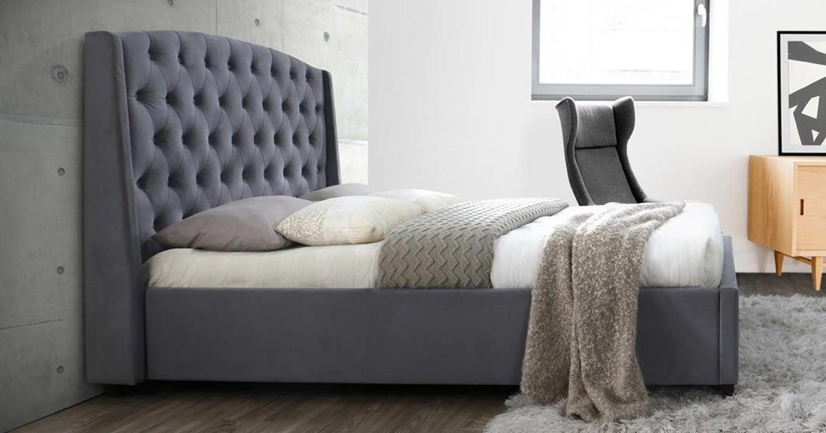 Deacon King Size Bed 150cm