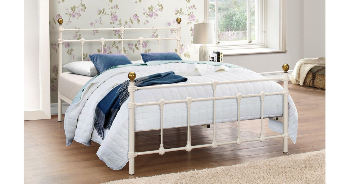 Camolin - Double Bed Black