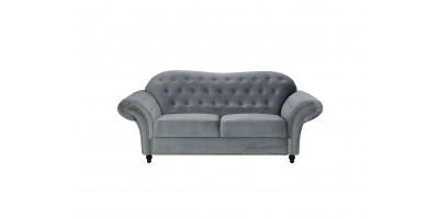 Alexandra 2 Seater Sofa Silver