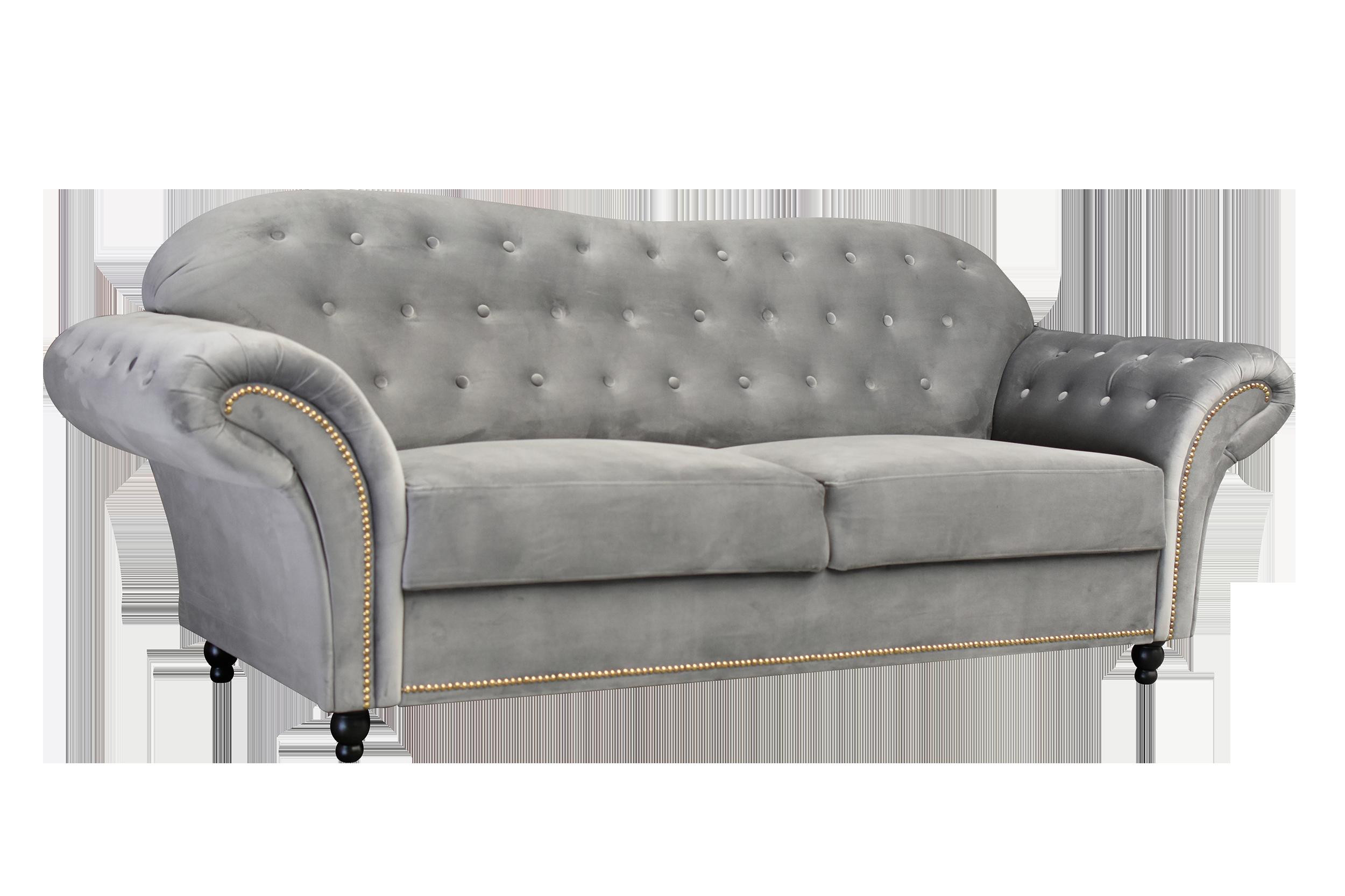 Alexandra 3+2 Seater Sofa Silver