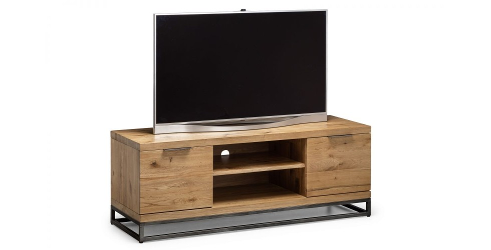 Brooklyn Solid Oak TV Unit