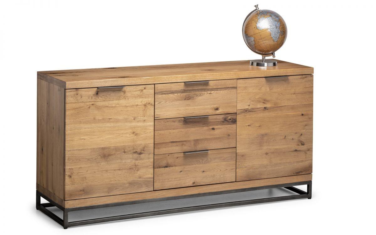 Brooklyn Solid Oak Sideboard