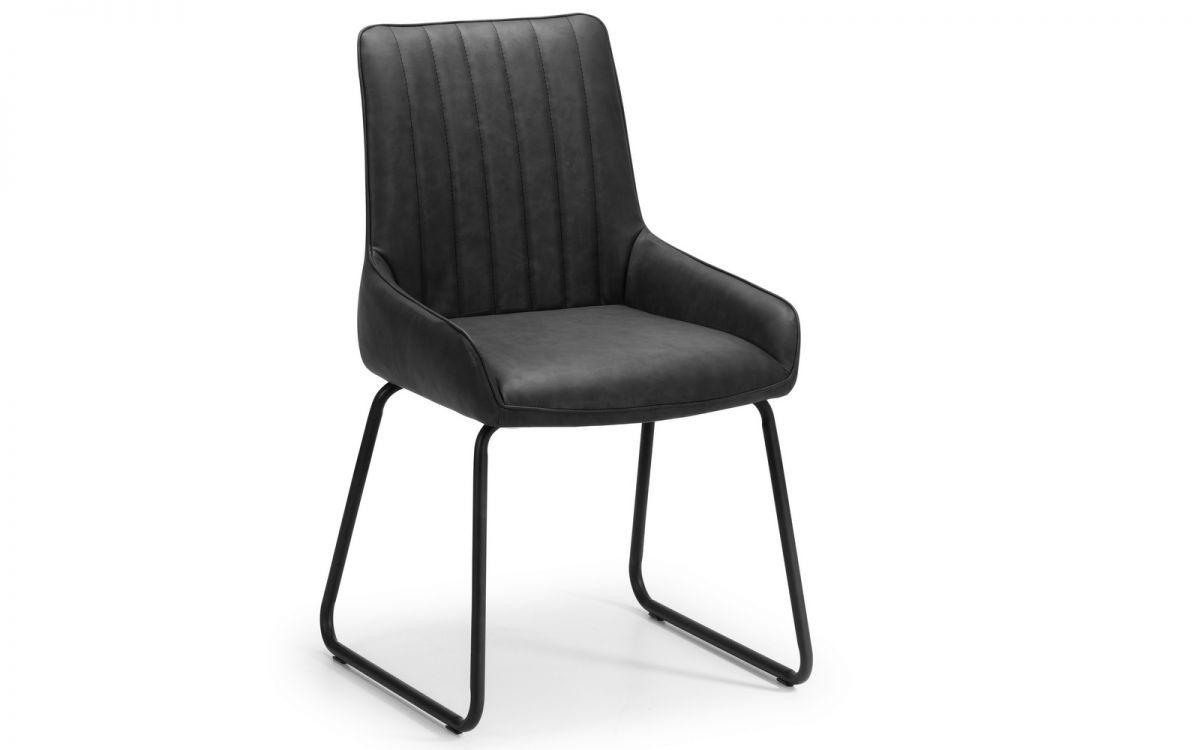 Brooklyn Soho Dining Chair - Antique Black