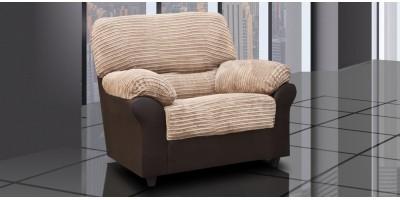 Carrick 1 Armchair Brown-Beige