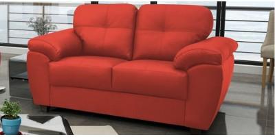 Capri 2 Seater Red Leather Sofa
