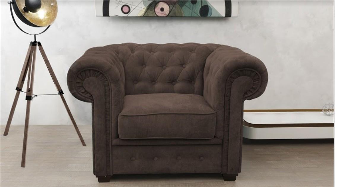 Chesterfield Club Chair Brown