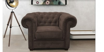 Chesterfield Club Chair Brown