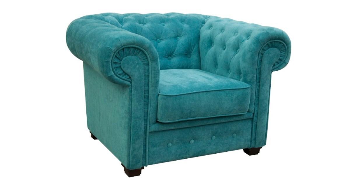 Chesterfield Club Chair Ocean