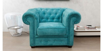 Chesterfield Club Chair Ocean