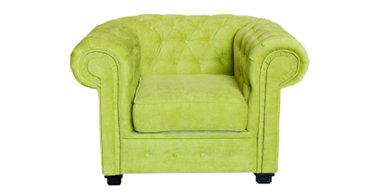 Chesterfield 2 Seater Zest