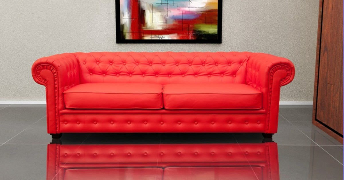 Chesterfield 3 Seater Sofa Bed