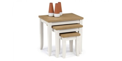 Davenport Malaysian Hardwood Nest of Tables