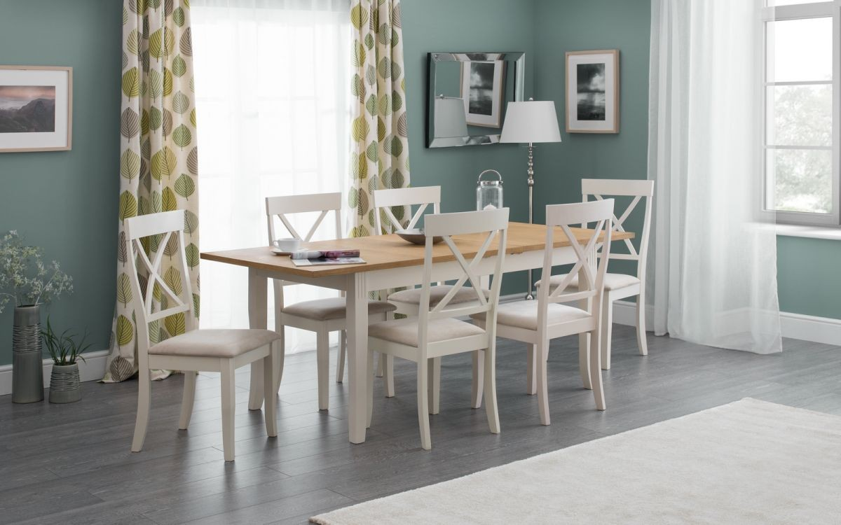 Davenport Extending Table + Bench + 6 Davenport Chairs Set