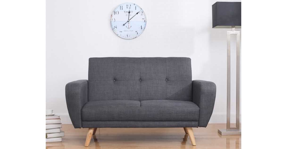 Inca Medium Sofa Bed - Grey
