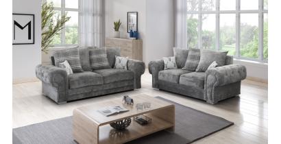 Fernando 3+2 Seater Sofa Granite