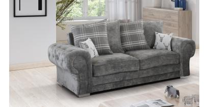 Fernando 3 Seater Sofa Granite