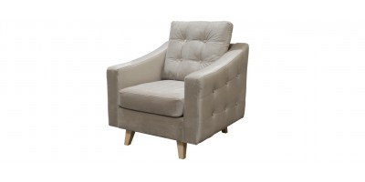 Gainsborough 1 Armchair Cream