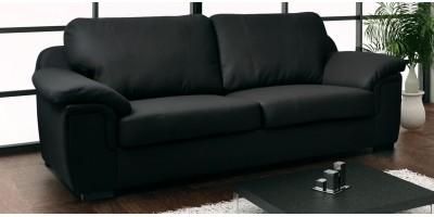 Glow 3 Seater Black