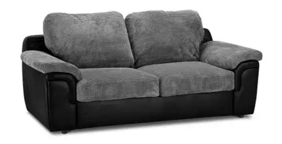 Glow 1 Seater Black Silver