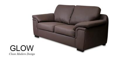 Glow 2 Seater Brown