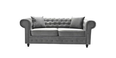 Newport 2 Seater Sofa Asphalt Plush