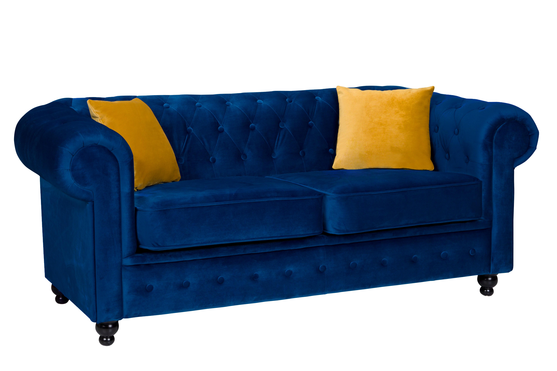 Newport 2 Seater Sofa Marine Plush