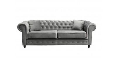 Newport 3 Seater Sofa Asphalt Plush