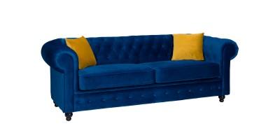 Newport 3 Seater Sofa Marine Plush
